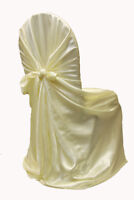 Ivory Chair Covers for Rent