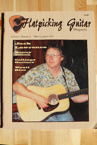 Flatpicking Guitar Magazine Issues & CDs
