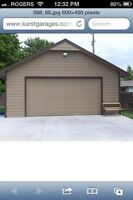 Need siding, soffit or fascia installed on your garage or home?