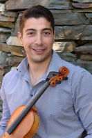 Violinist for lessons, weddings, parties and private functions