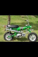Looking for Honda CT70 parts and bikes, Z50's & ATC 70's