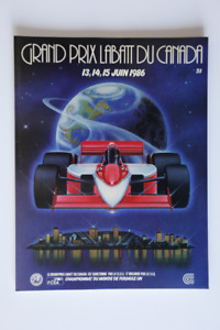 Formula One CANADA Grand Prix Labatt 1986 Official Program