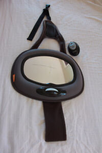 Back Car Seat Baby Mirror (for rear facing infants)