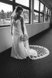 Superbe robe de mariée