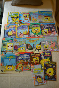 Huge SpongeBob Lot, 18 Books  - All for $15