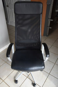 High Back Executive Office Chair with Lumbar, Adjustable Height