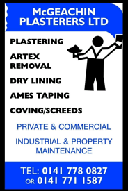 McGEACHIN PLASTERERS Ltd. - QUALITY WORK at COMPETITIVE RATES