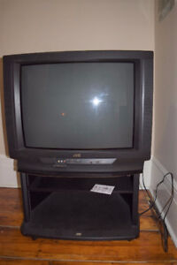 "JVC 27"" Color TV With Stand"