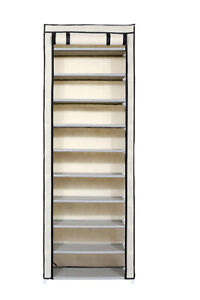 10-Tier Shoe Rack/Shoes Storage Cabinet *Brand new Sealed in box
