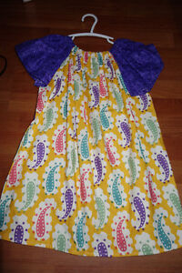Home Made Peasant Dress Approx Size 4-5