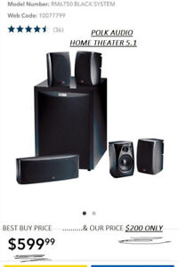 Polk Audio RM6750 5.1 Home Theatre Speaker System