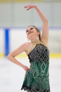Celtic Skating Dress XS in Adult Size.  Stunning on ice.