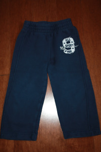 Navy Sporty Track Pants - 3T