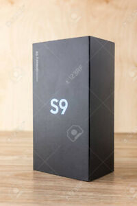 Samsung galaxy s9. NEW IN BOX