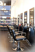 Stylist, Esthetician and Nail Tech required for Burlington Salon