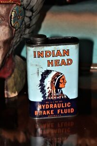 Indian Head Oil Can