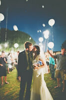 WEDDING QUALITY LIGHT UP BALLOON SALE 40% off