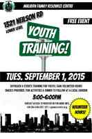 YOUTH VOLUNTEER TRAINING- Outreach & Events