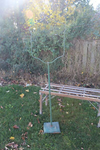Old Metal Bird Cage Stand