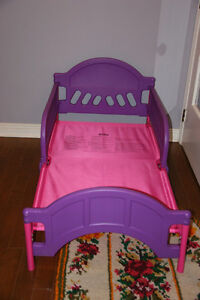 Kids size IKEA bed frame with Mattress in good condition.