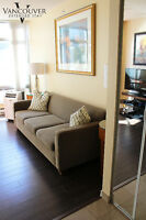 Furnished 2 Bedroom + 2 Baths near Robson