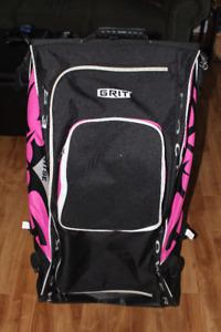 "Grit 36"" Pink Hockey Bag with Garment Bag"