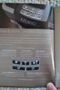 Keurig Rivo Cappuccino and Latte Brewing System Cambridge Kitchener Area image 5
