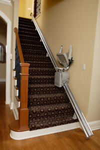 Brand New BRUNO STAIR CHAIR LIFTS, $2,995 Installed (no tax!)