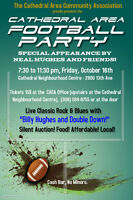 Cathedral Area Football Party