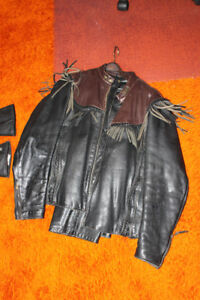 Willy G jacket and chaps