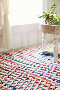 URBAN OUTFITTERS RUG 8x10 NEW WITH TAGS, Multicoloured