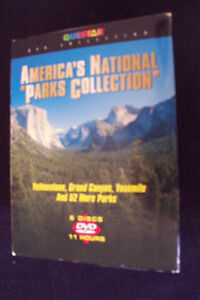 America's National Parks Collection, 6 DVD's.  1- America's