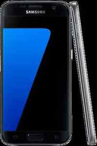 BLACK SAMSUNG GALAXY S7 with accessories for sale
