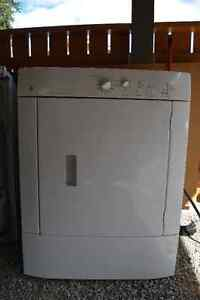 GE Dryer -Closet size - white