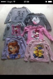 Girls tops 2-4 years