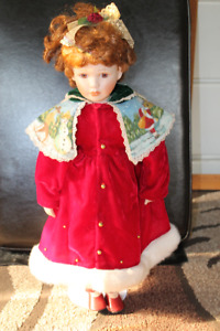 Porcelain Doll Winter Edition