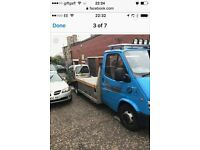 Transit recovery car transporter may PX swap