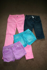 Justice shorts and pants size 14