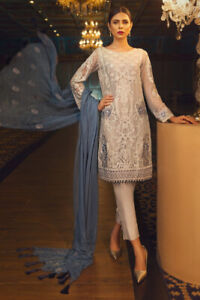 NEW* Pearl Lustre Ready to Wear Suit for Eid/Engagements/Parties