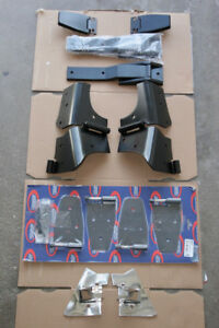 New Black Stainless Hinge Set for Jeep TJ Wrangler