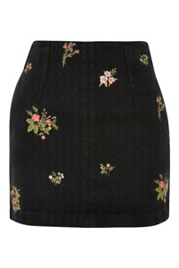 BNWT EMBROIDERED FLORAL SKIRT