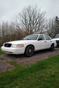 2008 Ford Crown Victoria Police Interceptor.