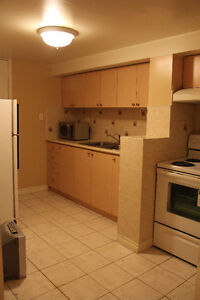Legal one bed room basement apartment in Pickering