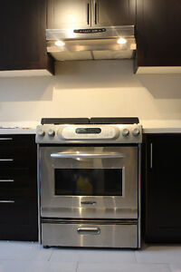 Kitchenaid slid in stove Model: KGSA906PSS00