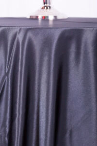 Premium Satin Tablecloths and Napkins For Rent