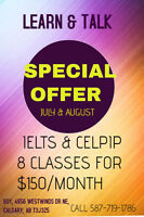 IELTS PREPARATION 4 WEEKS OF CLASSES@150/MONTH !!CALL 5877191786