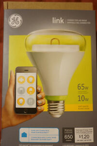GE Link connected LED lightbulb