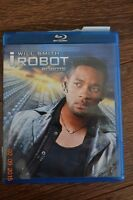 i,Robot with Will Smith Movie Blue ray disc