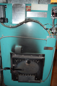 Electric and wood furnace