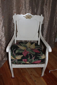 Antique hand made chair